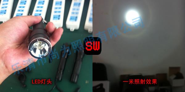 SW2101固态微型强光防爆电筒_尚为SW2101厂家供应